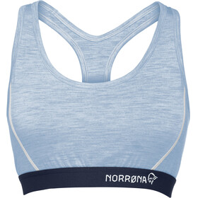 Norrøna W's Wool Crop Top Serenity